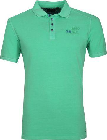 NZA Oakura Polo Shirt Neon Groen