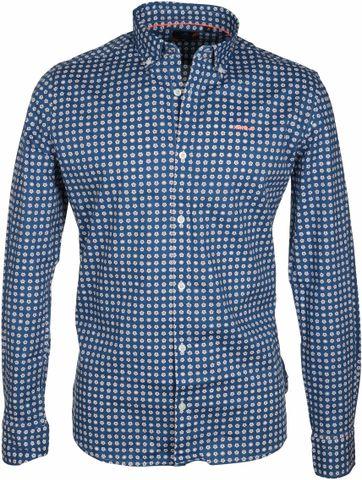 NZA Overhemd Barrhill Blauw