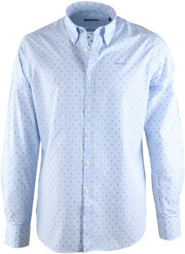 NZA Overhemd Blauw 17AN515