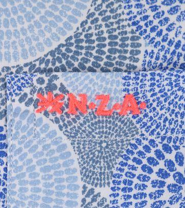 Detail NZA Overhemd Blauw Print 17DN507D
