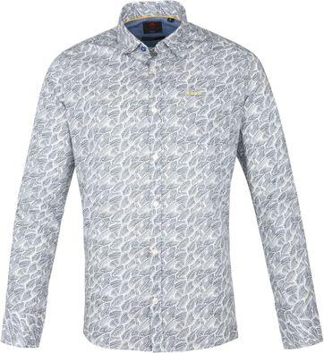 NZA Overhemd Catlins Blauw