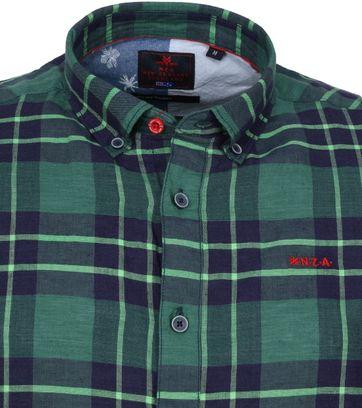 NZA Overhemd Dechen Groen