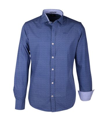 NZA Overhemd Donkerblauw 16AN520