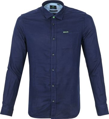 NZA Overhemd Edward Donkerblauw