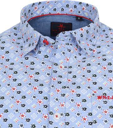 NZA Overhemd Hao Hao Blauw