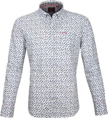 NZA Overhemd Kaniere Wit