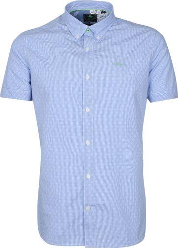 NZA Overhemd Korte Mouwen Rere Lichtblauw