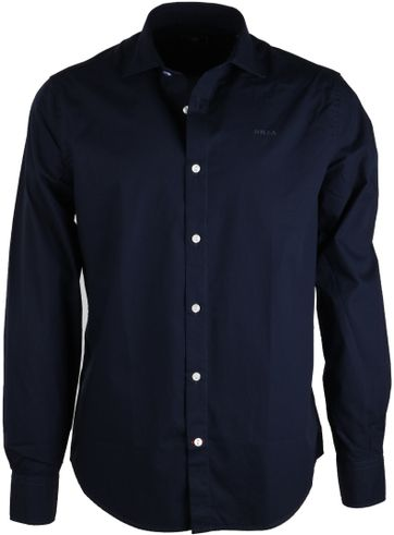 Detail NZA Overhemd Navy 16GN506C