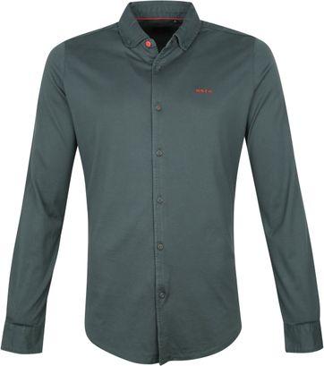 NZA Overhemd Pakuratahi Donkergroen