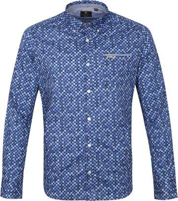 NZA Overhemd Tauanui Blauw