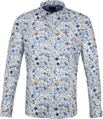 NZA Overhemd Waitewaewae Ecru