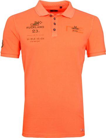 NZA Pahiatua Poloshirt Neon Oranje