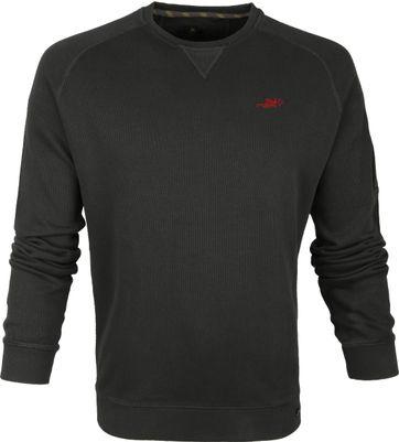 NZA Pairatahi Sweater Dunkelgrün
