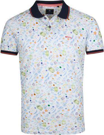 NZA Pakowhai Poloshirt White