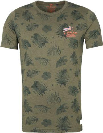 NZA Pearson T Shirt Dark Green