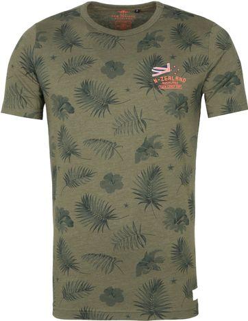 NZA Pearson T-shirt Donkergroen