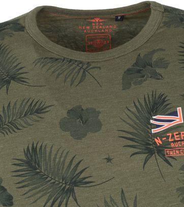 NZA Pearson T Shirt Dunkelgrun
