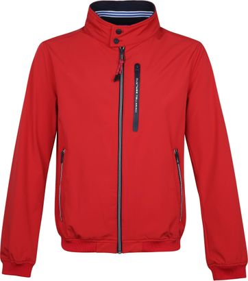 NZA Pehiakura Jacket Red