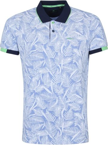 NZA Peters Polo Shirt Light Blue