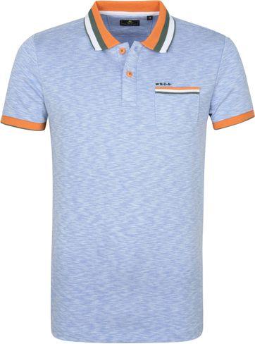 NZA Petone Poloshirt Hellblau