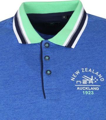 NZA Polo Fettes Peak Blauw