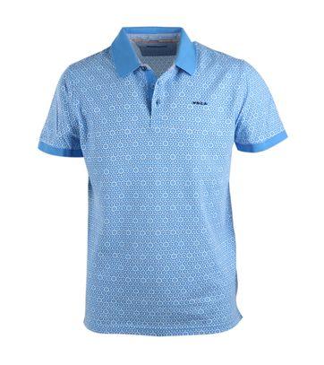 NZA Poloshirt Blauw 17BN108