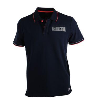 NZA Poloshirt Donkerblauw