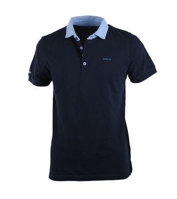 NZA Poloshirt Donkerblauw 17BN114