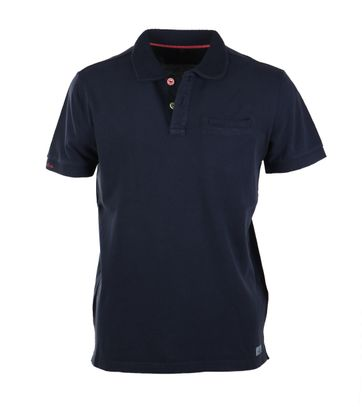 NZA Poloshirt Donkerblauw 17DN105