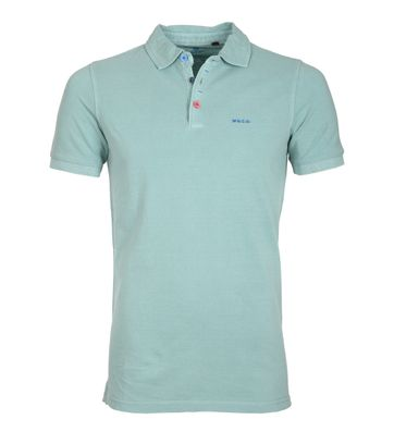 NZA Poloshirt Grantham Light Army