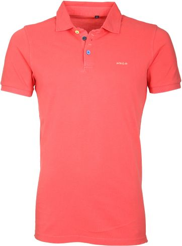 NZA Poloshirt Grantham Spring Red