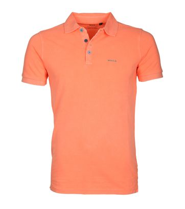 NZA Poloshirt Grantham Summer Orange