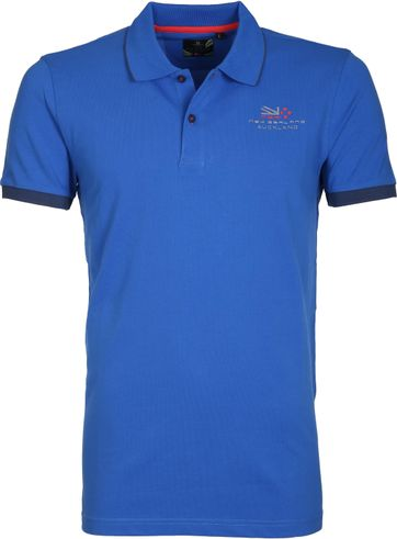 NZA Poloshirt Kaitawa Blue