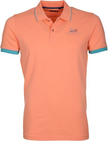 NZA Poloshirt Kaitawa Summer Orange