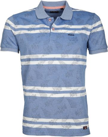 NZA Poloshirt Karamea Blau
