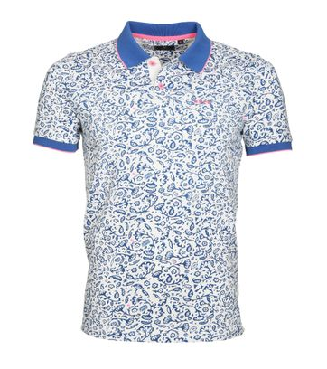 NZA Poloshirt Madeline Blau