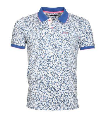 NZA Poloshirt Madeline Blauw