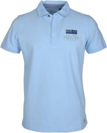 NZA Poloshirt Mariana Blue