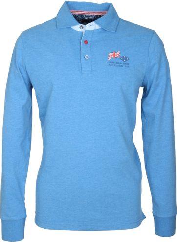 NZA Poloshirt Maui Blau
