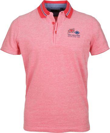 NZA Poloshirt Melange Roze