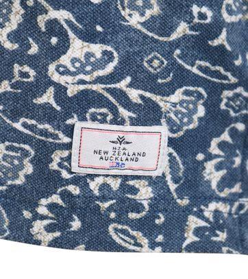 Detail NZA Poloshirt Navy Print