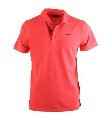 NZA Poloshirt Neon Oranje