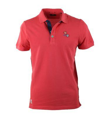 NZA Poloshirt Rood 17CN102