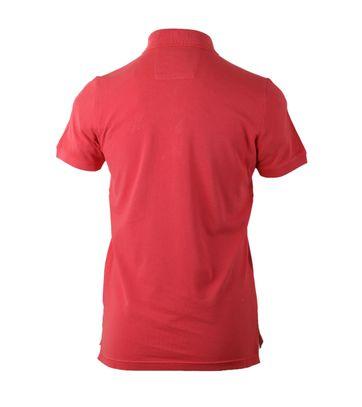Detail NZA Poloshirt Rood 17CN102