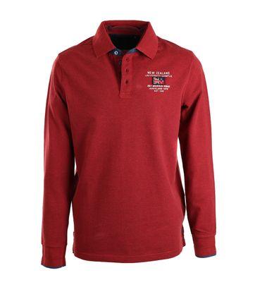 NZA Poloshirt Rood 17HN203