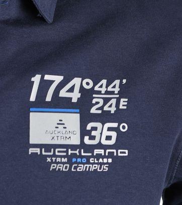 Detail NZA Poloshirt Ruakaka Navy