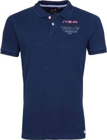 NZA Poloshirt Tahuna Indigo
