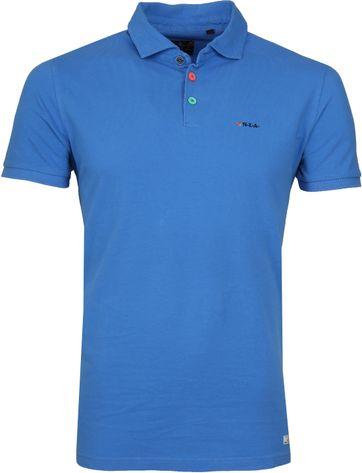 NZA Poloshirt Waiapu Blau