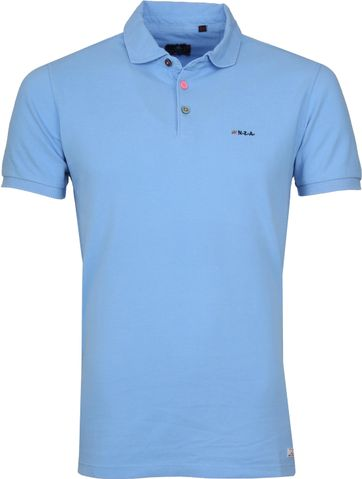 NZA Poloshirt Waiapu Light Blue