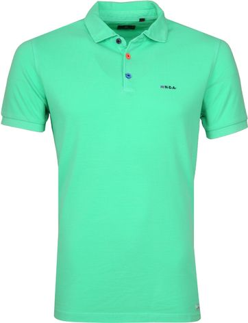 NZA Poloshirt Waiapu Neon Green